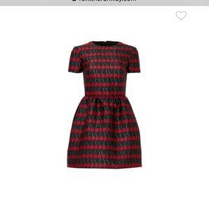 RED Valentino Marchiano cherry dress